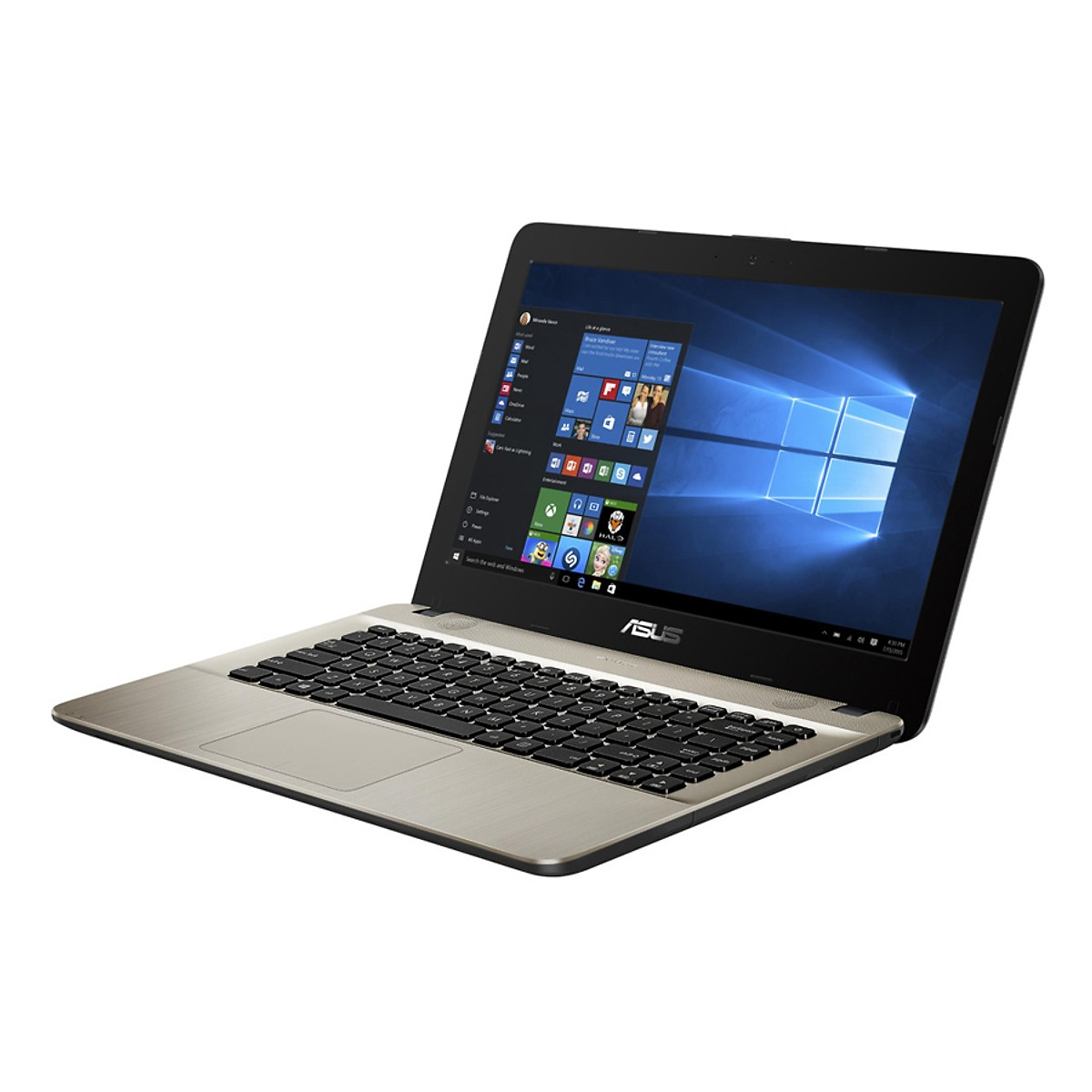 Asus   Máy tính xách tay - Laptop    Laptop ASUS VivoBook 14 X441UA-WX427T Core i3-6006U/ Win10 (14