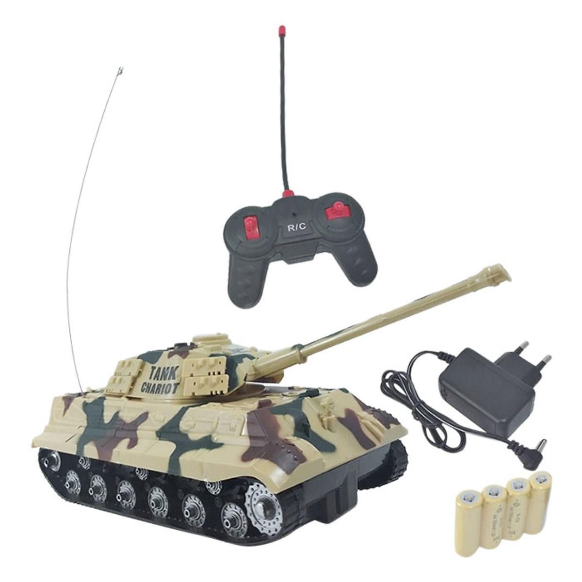 Xe Tăng Điều Khiển Từ Xa Tanks KKX520C KA512