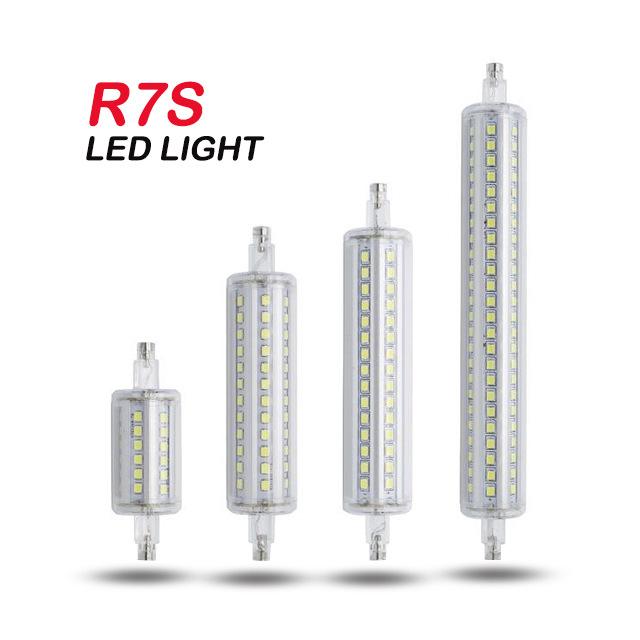 CHENGYI Bóng đèn cắm ngang Nhà máy trực tiếp mới R7S đèn ngô cắm ngang 85-265V118mm 36 72LED ánh sán