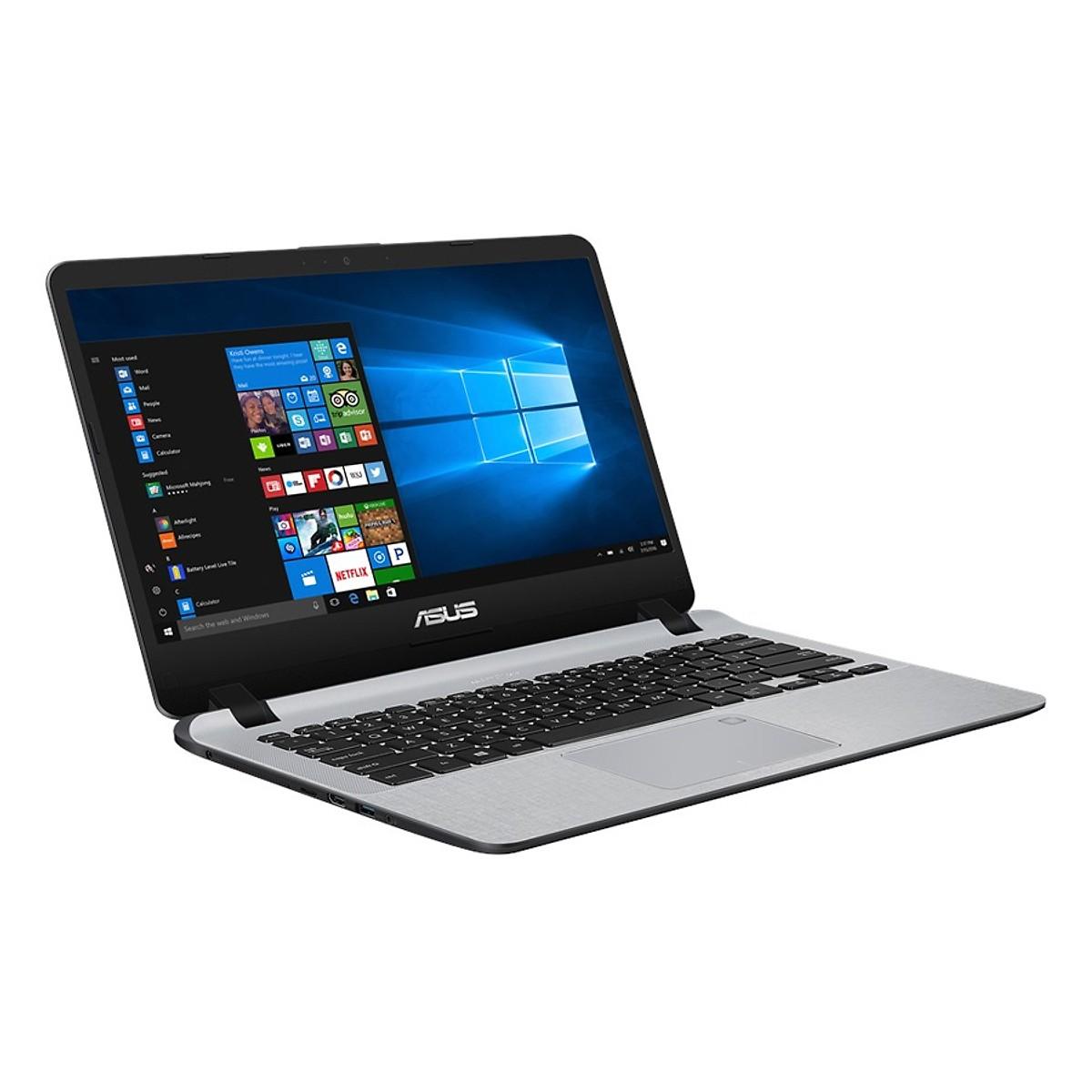 Asus   Máy tính xách tay - Laptop  Laptop Asus Vivobook X407UA-BV489T Core i5-8250U/ Win10 (14