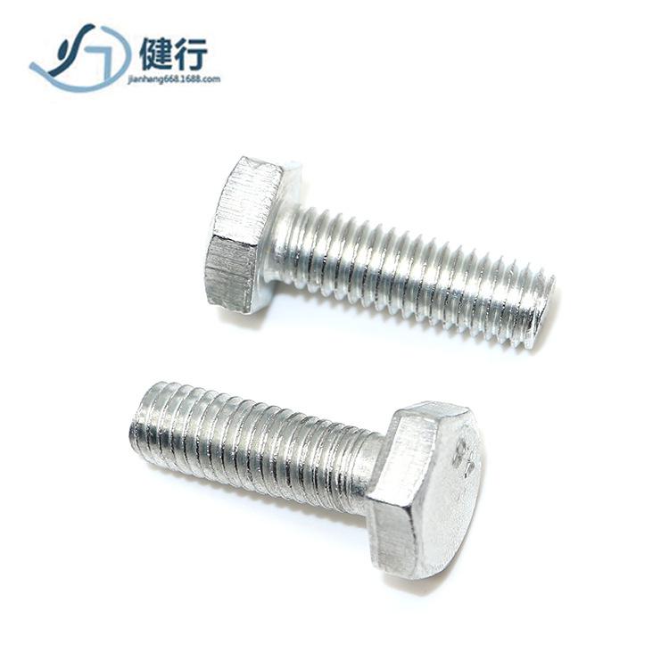 TONGYAO Bu lông mạ kẽm lục giác 4,8 lớp Vít đầu thép carbon M6M8M10 nhà sản xuất Phật Sơn cung cấp ố