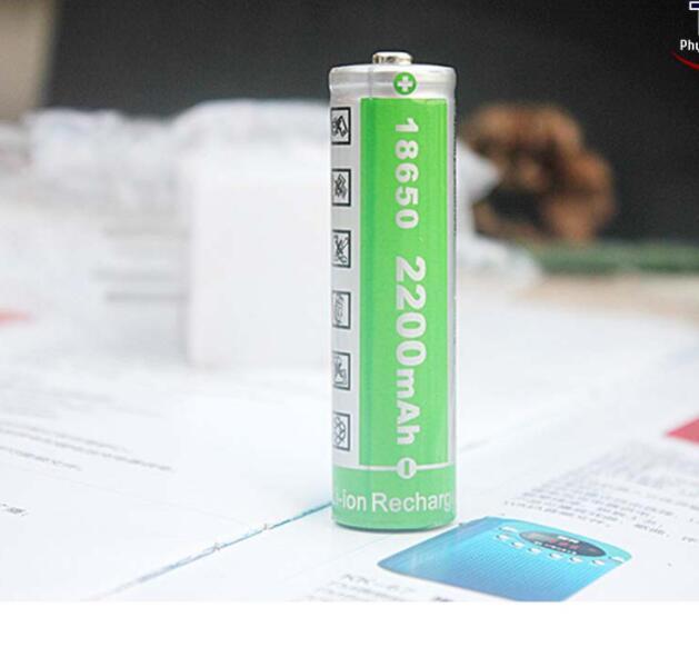 Thiết bị ổn áp Pin Sạc Lithium-Ion 18650 4.2V 2200mAh