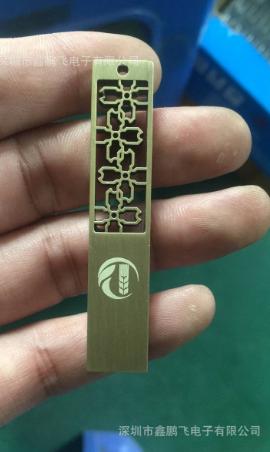 OEM   USB   Riềm giấy ổ đĩa USB tùy chỉnh gió Trung Quốc doanh nghiệp năm sẽ tặng phẩm kim loại ổ đĩ