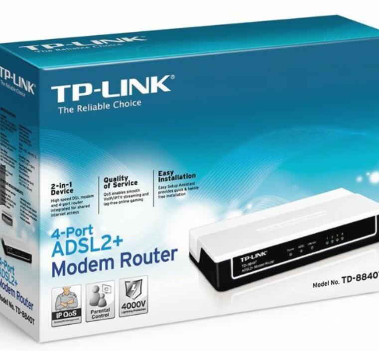 Modem Router TP-Link TD-8840T