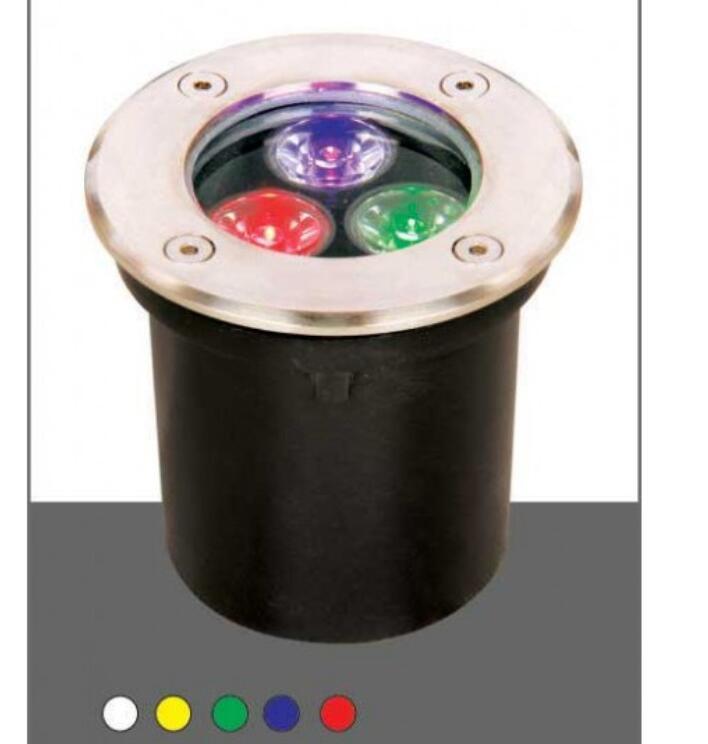Đèn Âm Đất HE-105 Đổi Màu .