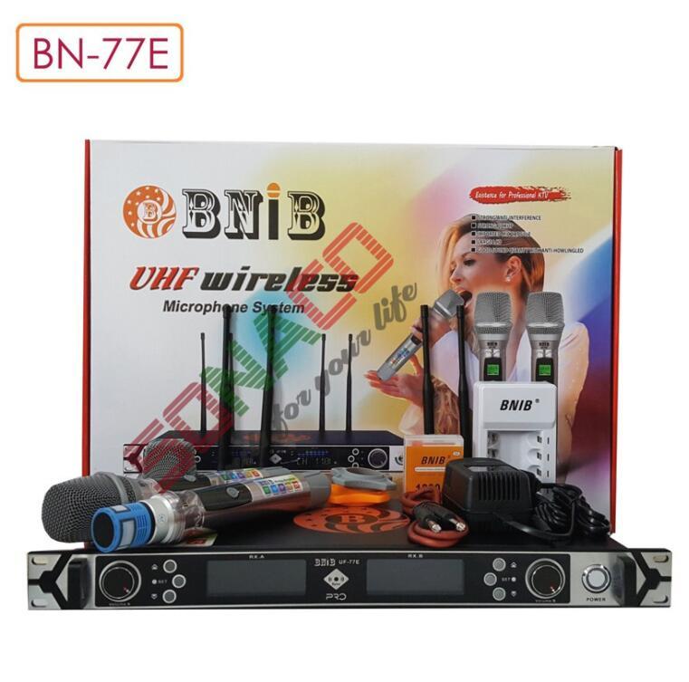 MICRO UHF KHÔNG DÂY CAO CẤP BNIB 77E