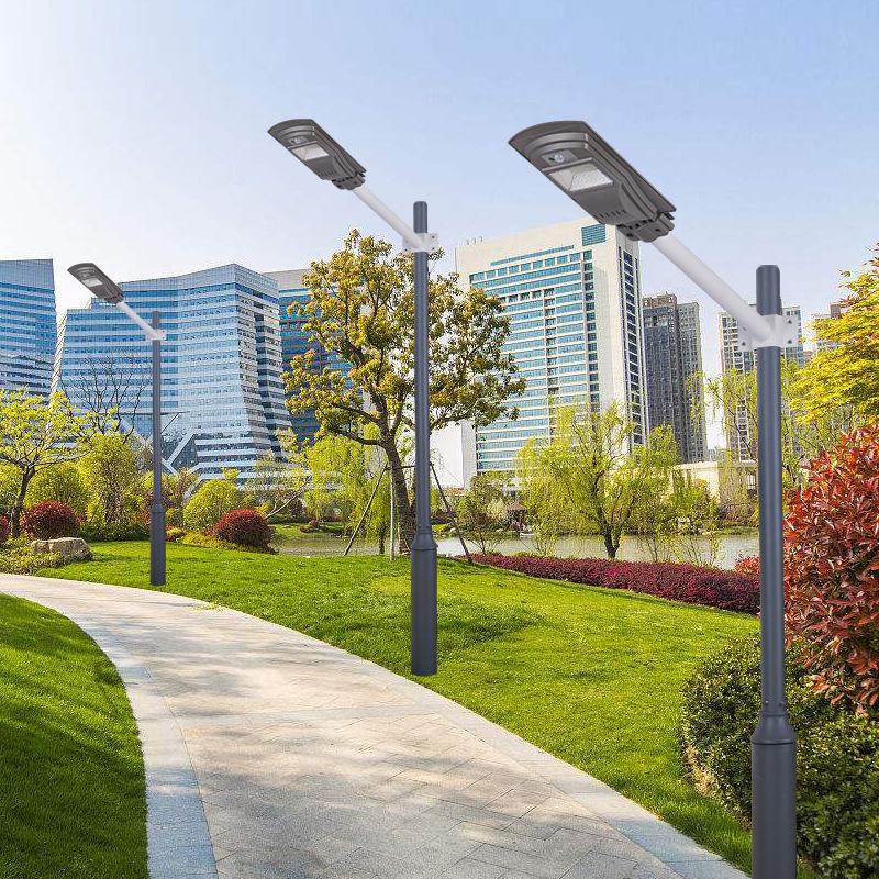 SHOUDENG Đèn LED chiếu sáng công cộng Năng lượng mặt trời tích hợp radar cảm ứng