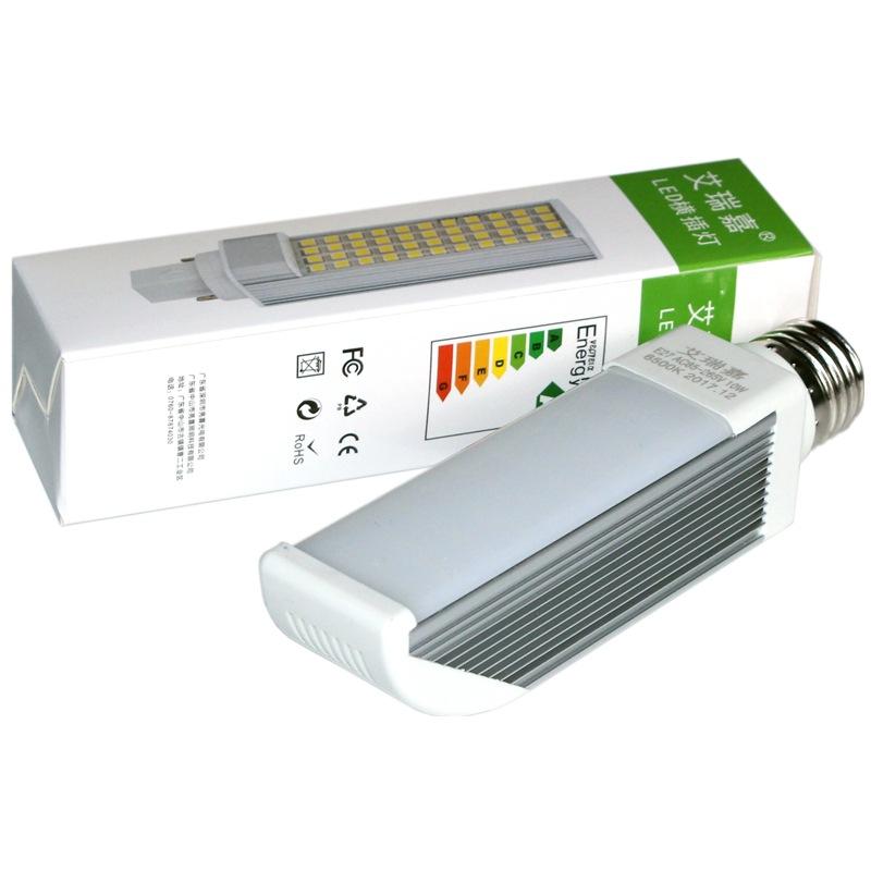 AIRUIJIA Bóng đèn cắm ngang Siêu sáng tất cả nhôm LED cắm ngang đèn cắm G24G23 ống 220vVVVV