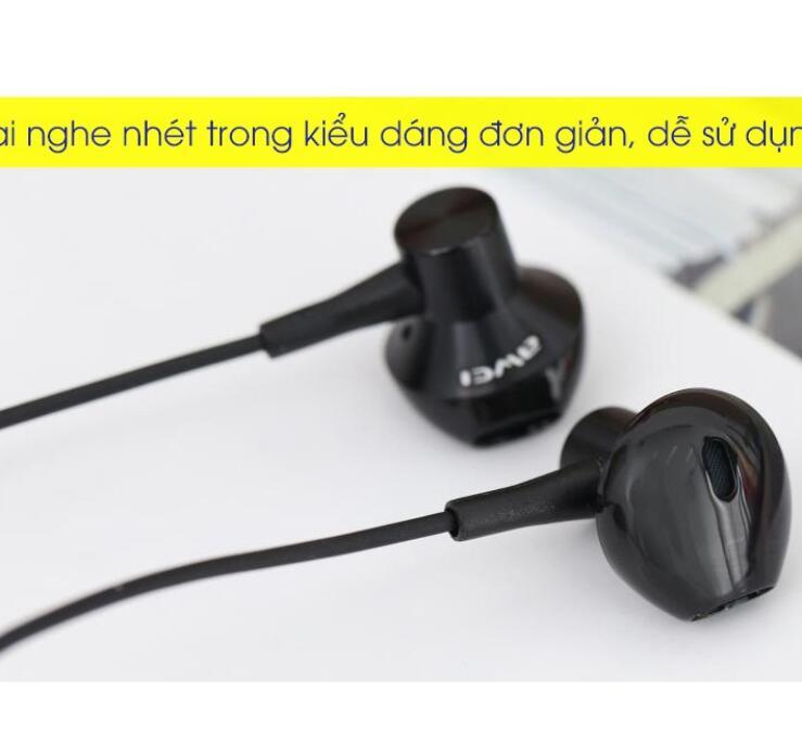 Tai Nghe EP Awei Q21Hi Đen