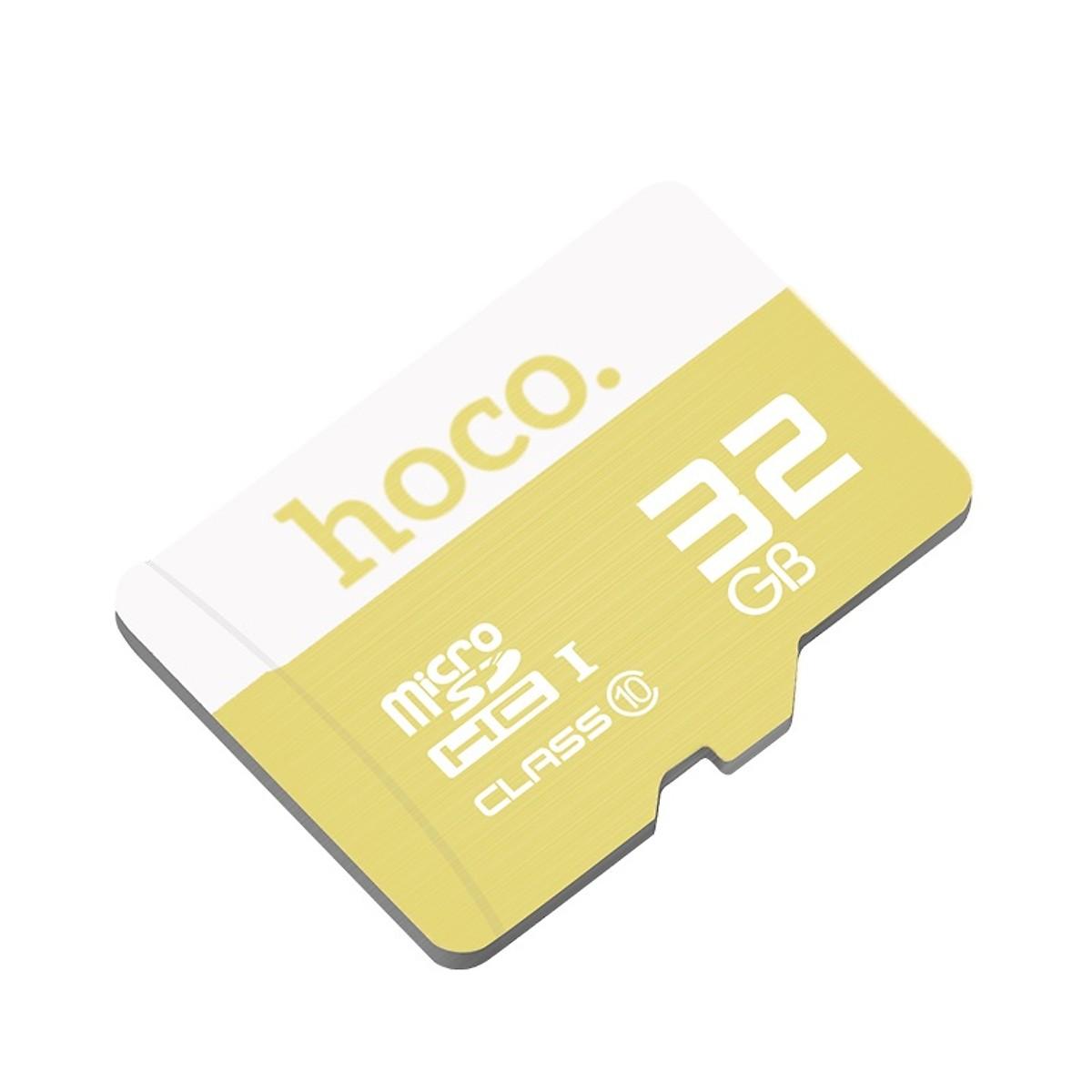 Hoco   Thẻ nhớ   Thẻ Nhớ 32GB Class10 Tốc Độ Cao MicroSD Chính Hãng Hoco