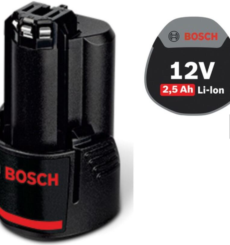 Thiết bị ổn áp Pin Ion Lithium Bosch GBA 12V 2.5Ah