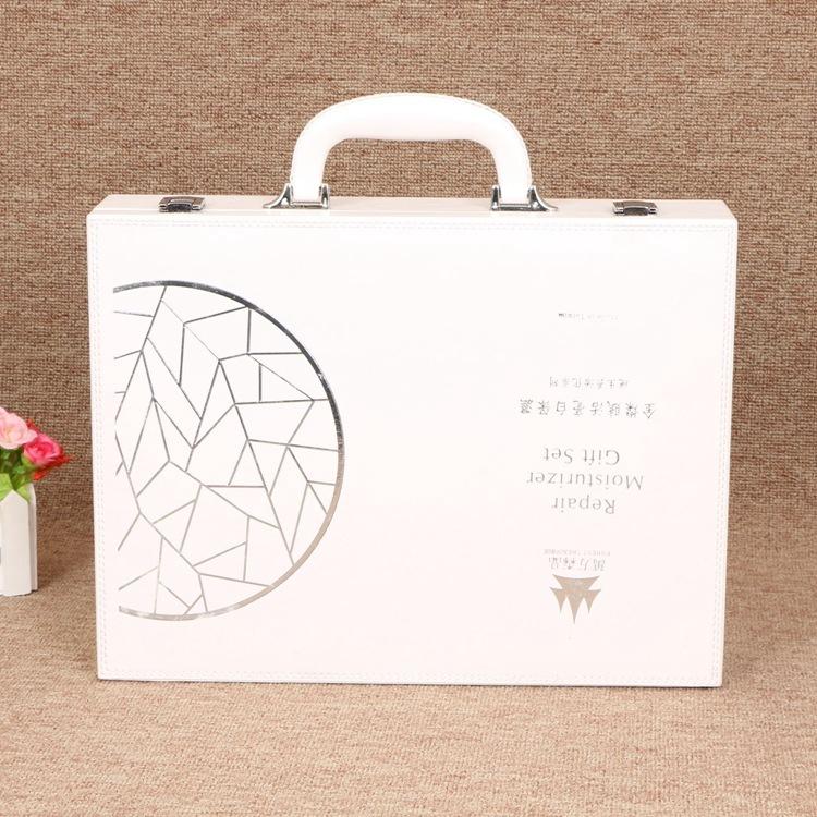 TIANJIA Hộp da Nhà máy sản xuất hộp da trực tiếp hộp quà tặng hộp mỹ phẩm tùy chỉnh hộp mỹ phẩm xách