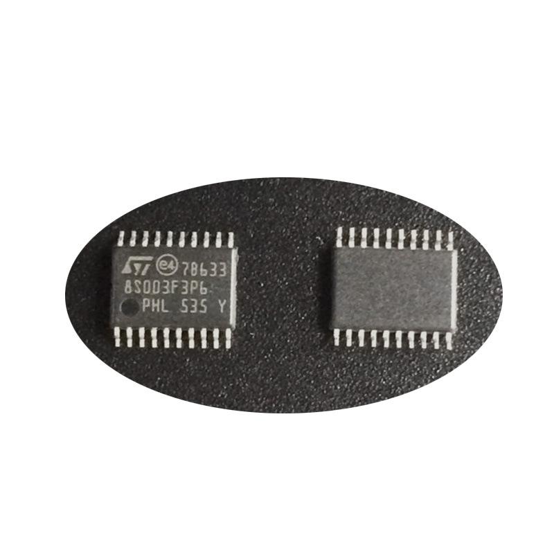 IC tích hợp Các linh kiện điện tử STM8S003F3P6 TSSOP20 với một chip mạch tích hợp IC một trạm với mộ