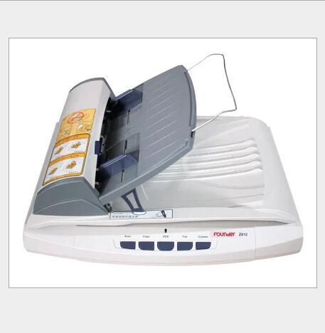 Founder Máy scan Fang Zhen, máy quét Z812 tấm giấy A4 quỹ công thức nền tảng đôi tốc độ tự động quét