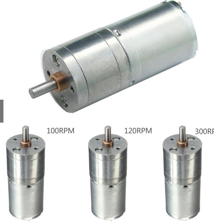 Mô-tơ điện  / Động cơ điện Mô Tơ Điện 25Mm 100Rpm Dc 12V Công Suất Cao 90 * Cm