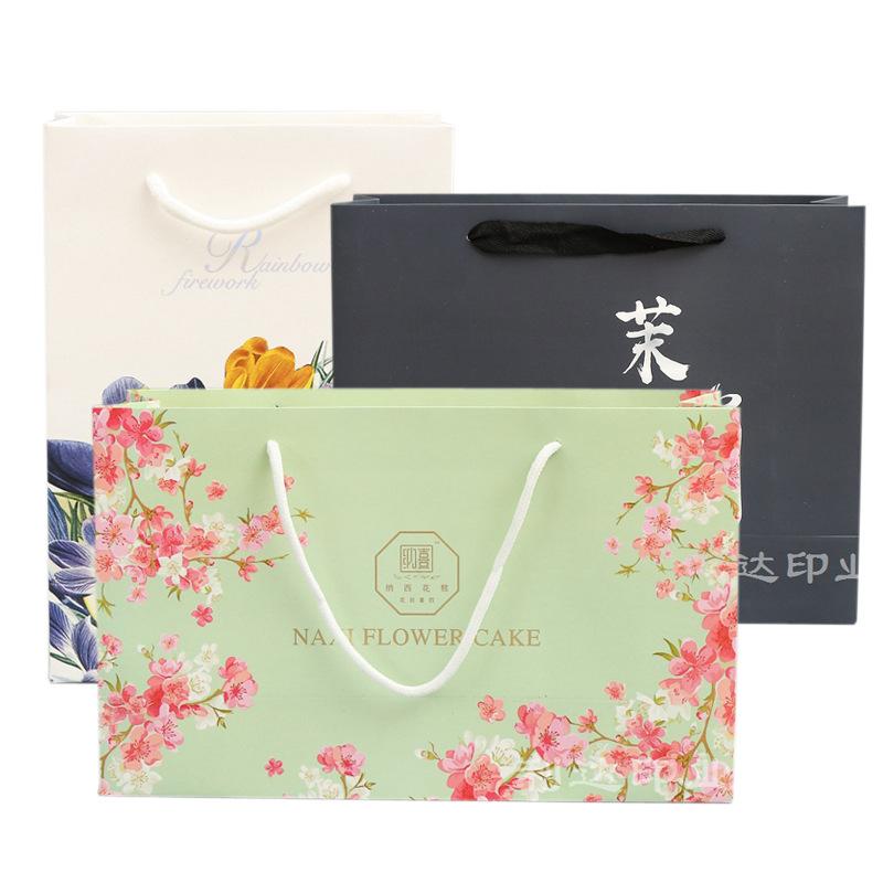LIDA Túi giấy đựng quà Túi giấy kraft tùy chỉnh quần áo mỹ phẩm túi xách tay túi giấy tùy chỉnh bao