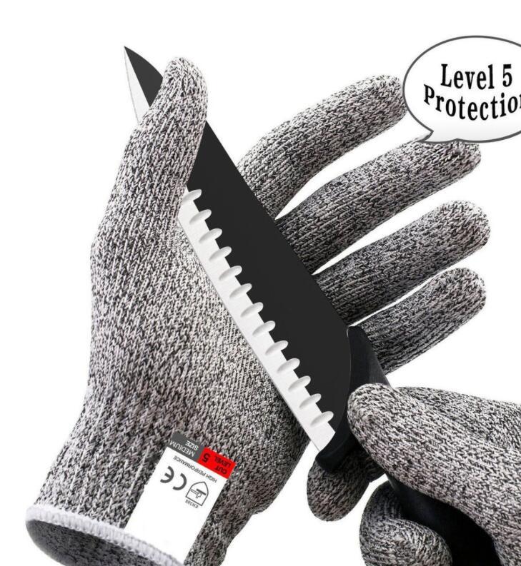 Găng tay chống cắt 1 Đôi Găng Tay Bảo Vệ Chống Cắt Thực Phẩm