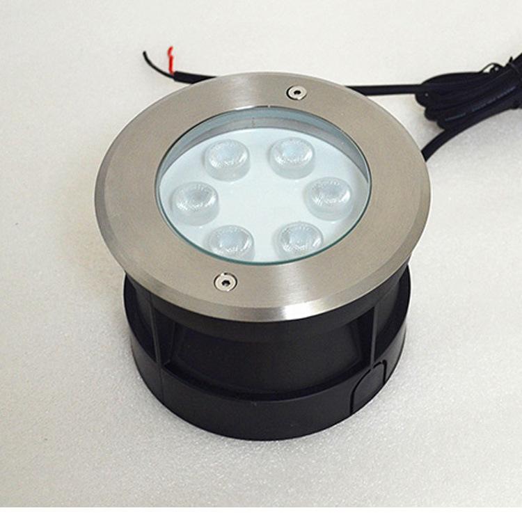 Đèn LED âm nước 12V24VLED dưới nước ánh sáng ngầm chôn ánh sáng cảnh quan ánh sáng dưới nước ánh sán