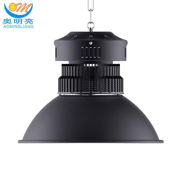 AOMINGLIANG Đèn LED khai khoáng Đèn led cao cấp 200W 100W 50W 150W vây nhà máy 300W Đèn trần nhà máy