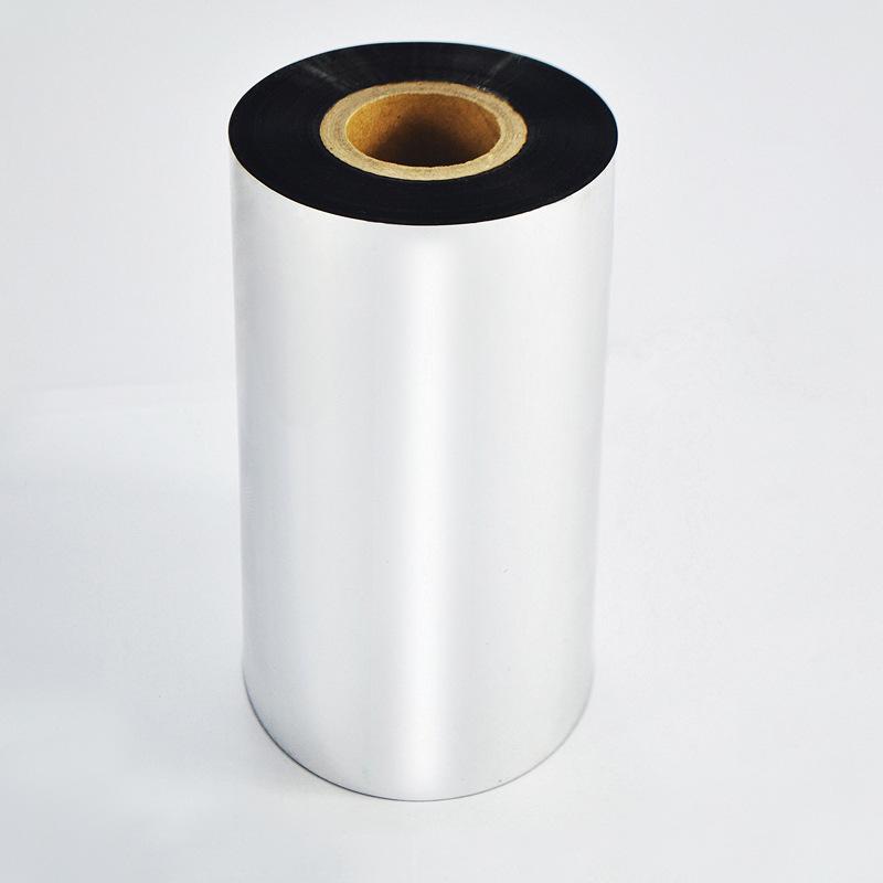 XIONGTE Ruy băng màu Nhà máy trực tiếp mã vạch nhãn sáp dựa trên ruy băng rõ ràng mã vạch đặc biệt r