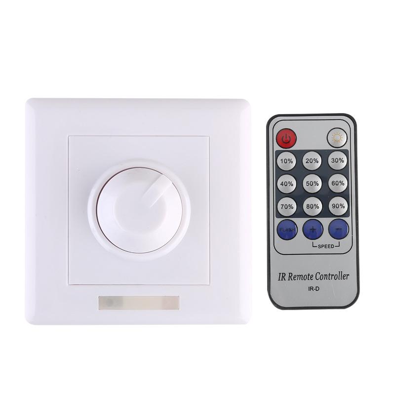KELANG Công tắc điều chỉnh độ sáng Điều khiển từ xa hồng ngoại 14 phím Công tắc điều chỉnh độ sáng 0