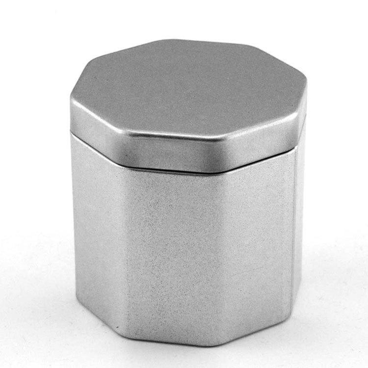 YONGCHENG Hũ kim loại Sở hữu khuôn sắt hình lon thiếc Kim loại phổ lon sắt Tùy chỉnh hình bát giác t