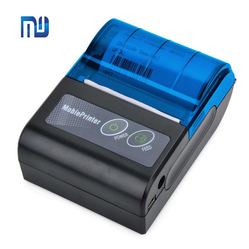 Máy in hóa đơn Bluetooth di động 58mm