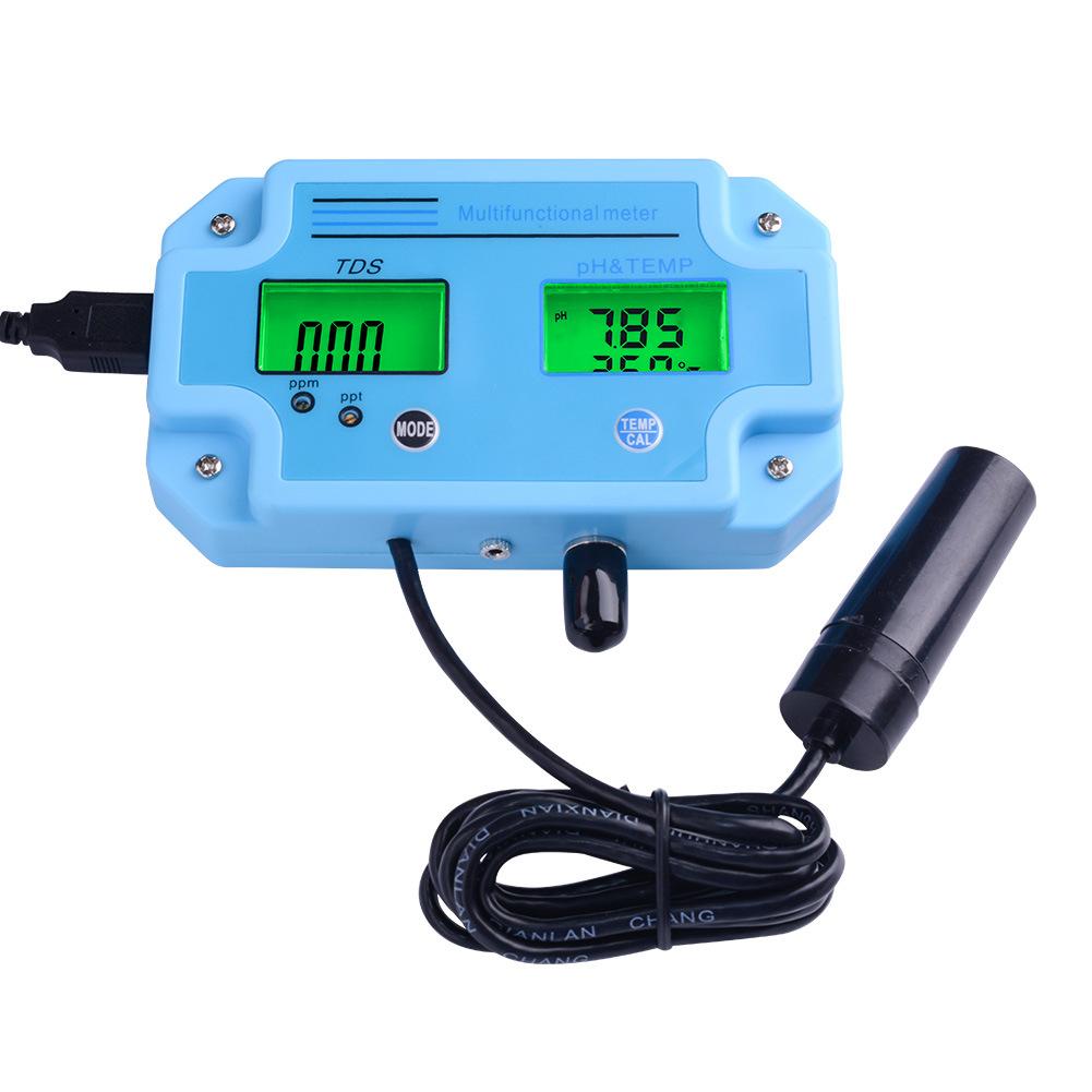 YAGE Dụng cụ phân tích PH-2983 bút kiểm tra chất lượng nước cầm tay ph thử nghiệm pH phân tích bể cá