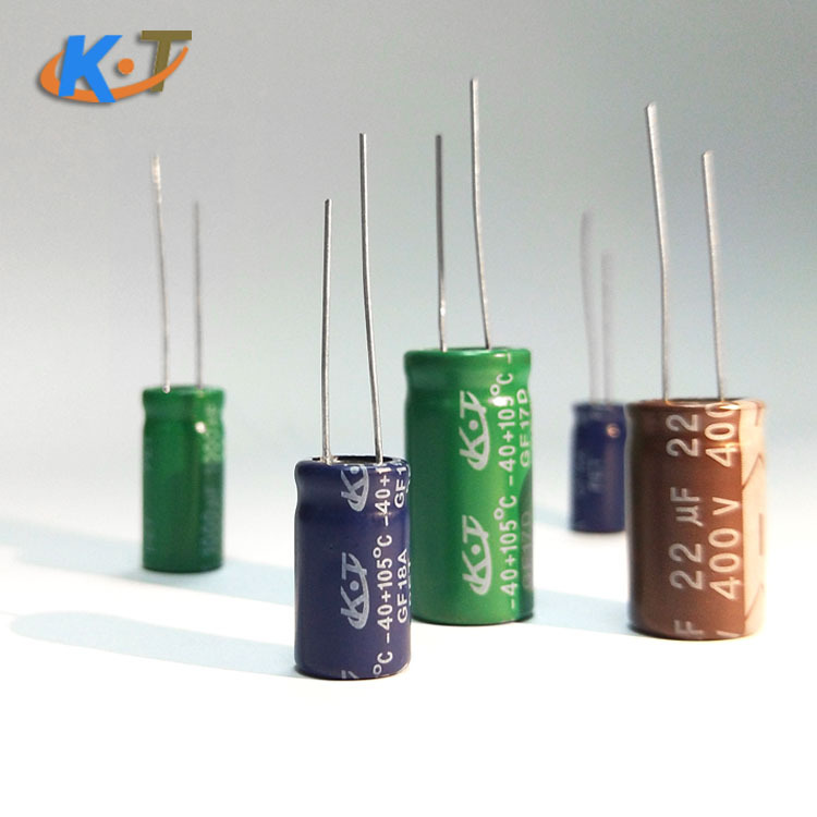 KT Tụ hoá Plug-in tụ điện điện phân 470uf 35v 10v / 16v / 25v / 50v / 63v / 100v tụ điện điện cao tầ