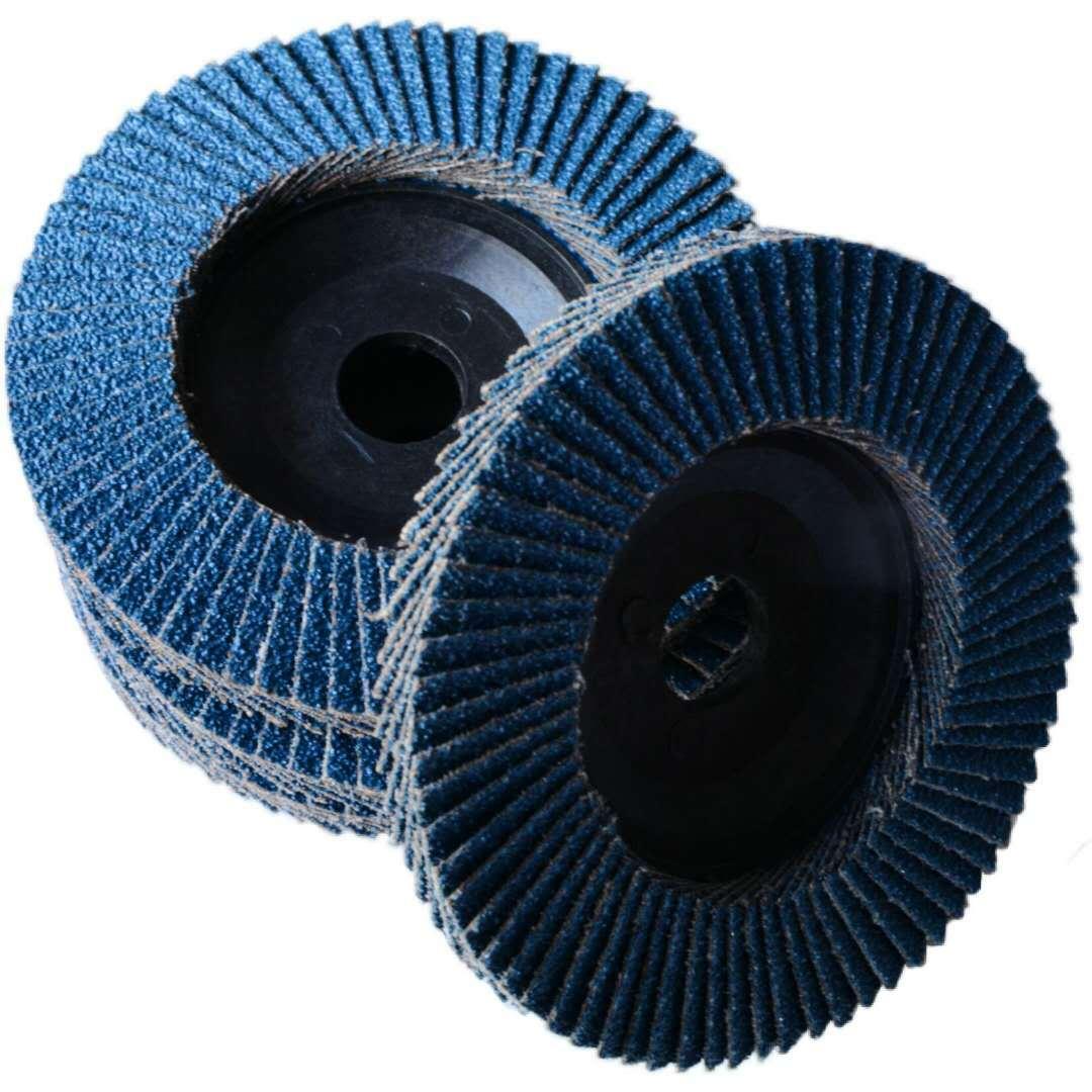 XIJIA Công cụ mài Bán buôn mài mòn 100 trăm lưỡi thép không gỉ zirconium corundum mài bánh xe 75 nhự