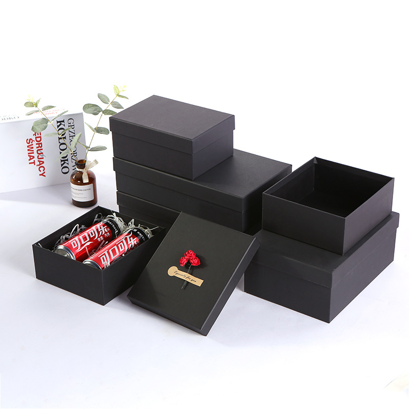 SHENGCHONG Hộp giấy Nhà máy trực tiếp giấy kraft gói quà tặng hộp quà tặng Tiandi bao gồm hộp quà tặ