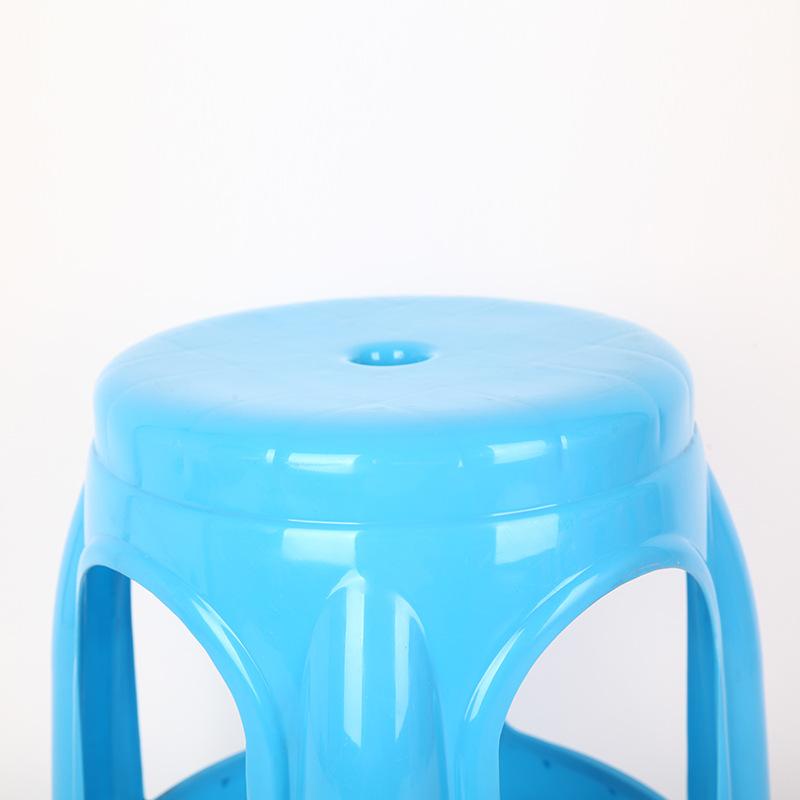 AOLIJIE Đồ dùng gia dụng Quầy hàng thực phẩm chống trượt phục vụ ghế nhựa giả gỗ màu xanh lá cây ngo