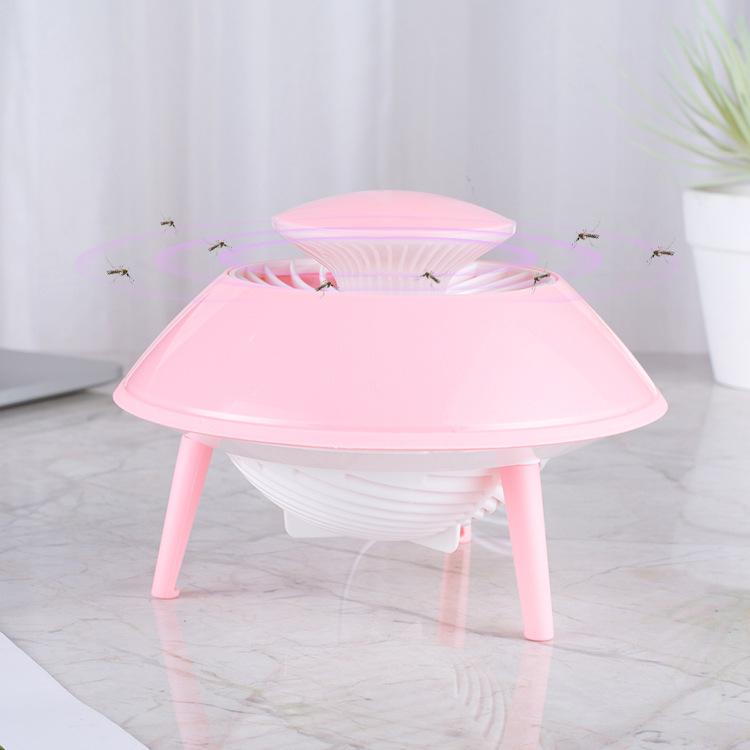ZHONGLI Đèn diệt muỗi UFO cho gia đình bạn.