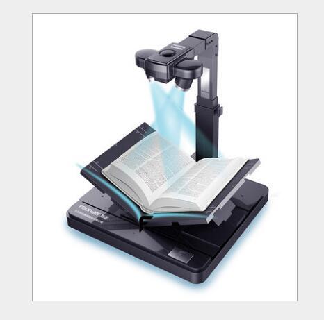 Nhà sáng lập Z5100 cuốn sách T máy tính để bàn giữ hình chữ V Máy quét sách A4 / A3