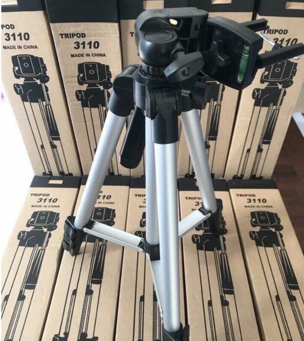 Chân Giá Đỡ Máy Chụp Ảnh Tripod TF-3110 + Miếng Kẹp Điện Thoại (BM-00602)