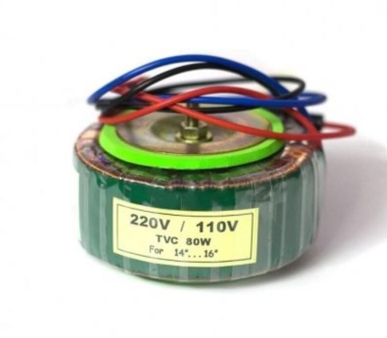 Thiết bị biến áp Biến Áp Xuyến 220VAC-110VAC Hoàn Cầu 80W ( Dây Đồng 100% )