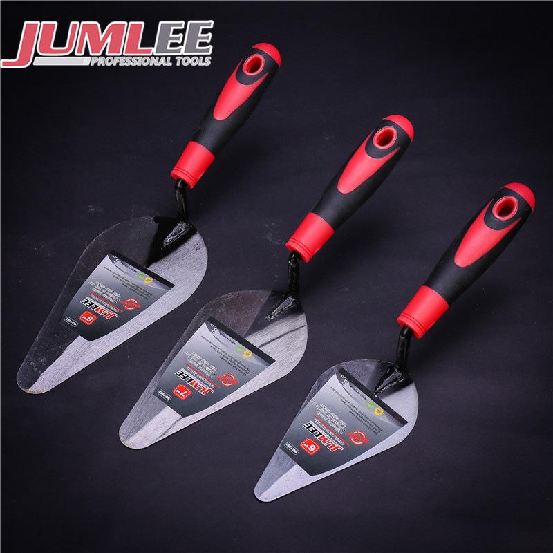 Jumlee Công cụ nghề mộc Tay trang trí xây dựng gạch dao dao gạch lát gạch hai mặt bùn dao cắt gạch p