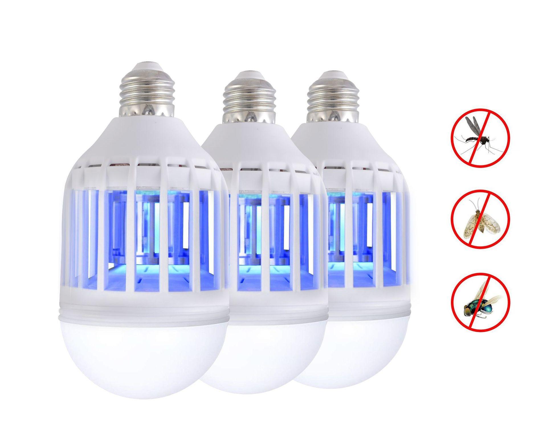 SHANLIANGXING Bóng đèn LED Bóng đèn diệt muỗi mới xuyên biên giới Phiên bản nâng cấp của bóng đèn le