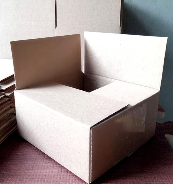 Thùng giấy Combo 50 Thùng Giấy Carton 10×10×5cm Giá Rẻ