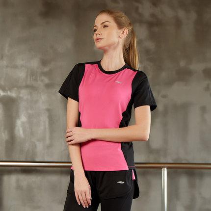 Thị trường bảo hộ lao động  Hosa Áo thun thể thao nữ nhanh khô Hosa Hosa ngắn tay 2018 mới chạy bộ á