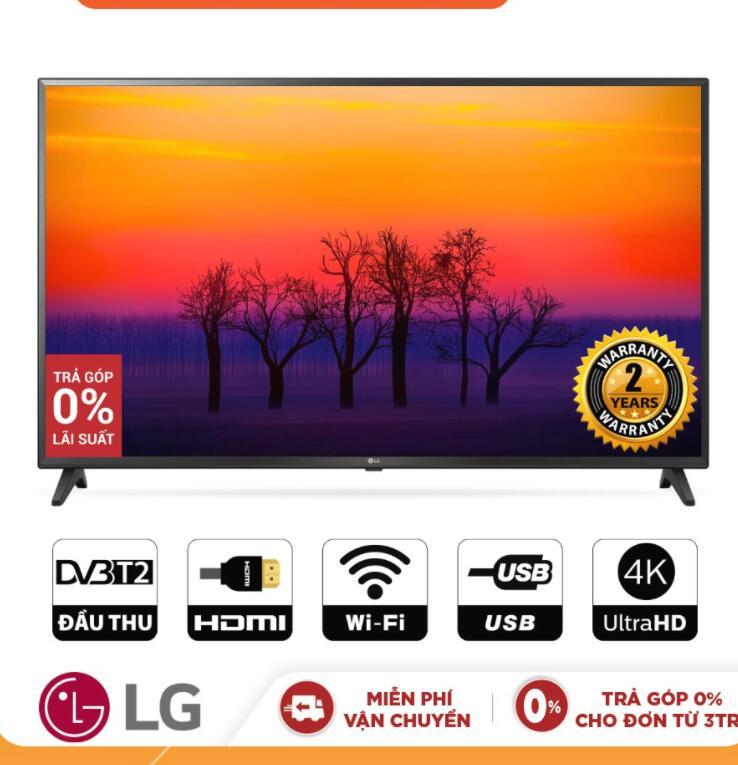 Tivi LCD Smart Tivi LG 43 Inch UHD 4K 43UK6200PTA (Không Kèm Magic Remote) - Chính Hãng Phân Phối