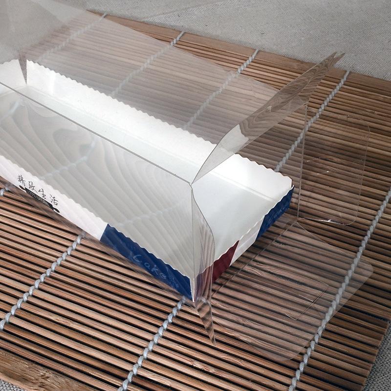 MINGCAI Thị trường bao bì nhựa Hộp bánh hình chữ nhật bằng nhựa đặt West point Hacco dog bao bì thực