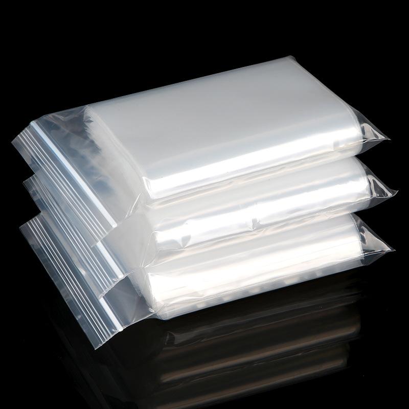 SMD Túi PE Ziplock tại chỗ Túi bịt kín Túi nhựa trong suốt Lớn vừa và nhỏ Túi quần áo Bao bì Túi nhự