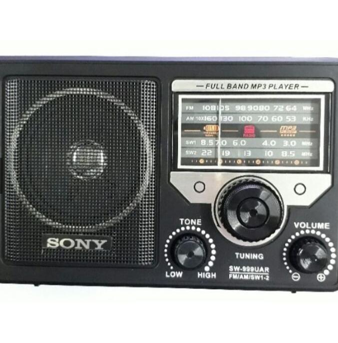 Máy Radio Đài radio Sony SW-888 và 999