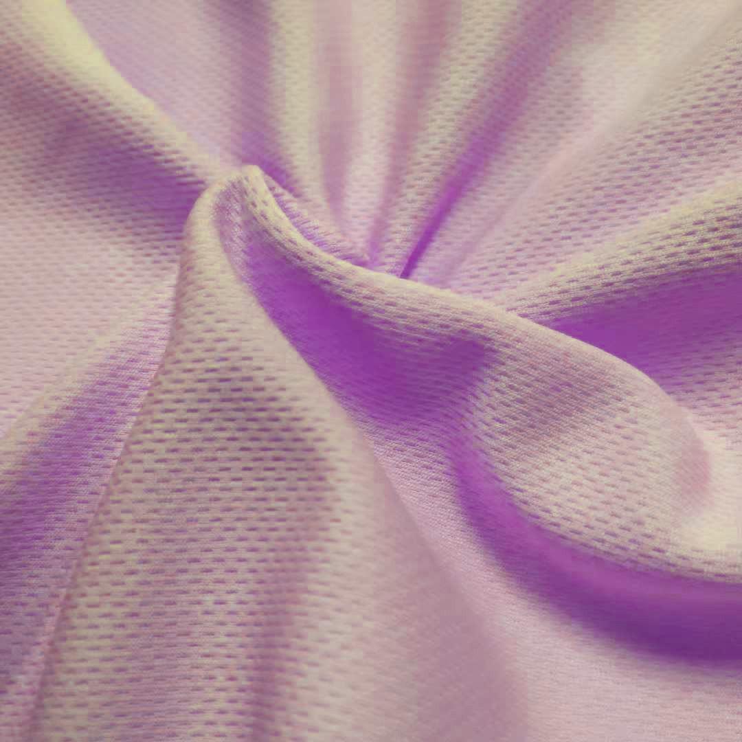 CHONGCHENG Vải dệt kim Nhà máy trực tiếp đan áo thể thao tại chỗ chim mắt vải hai mặt vải dệt kim ló