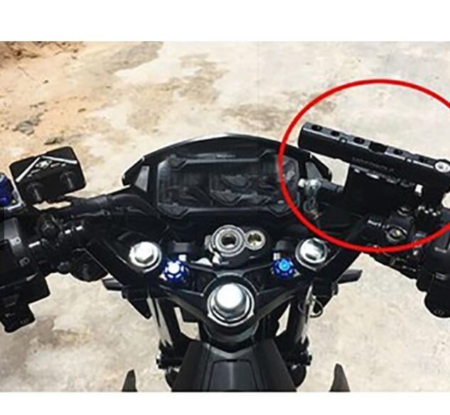 Chân Giá đỡ chân kính CNC độ xe máy siêu chất G104
