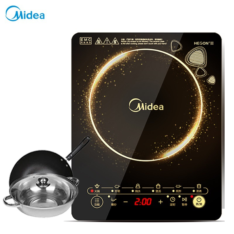 Midea Bếp từ, Bếp hồng ngoại, Bếp ga [Midea / beautiful authentic] WK2102 multi-function induction c