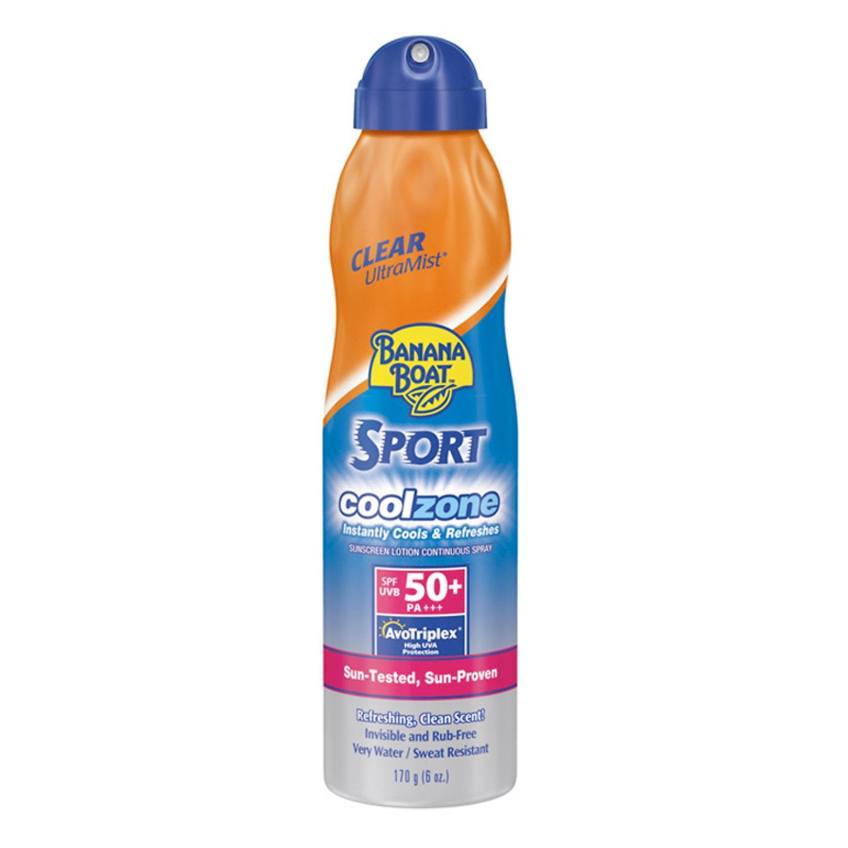 Xịt Chống Nắng Banana Boat Sport Performance Coolzone SPF 50 (170g) - 100801105