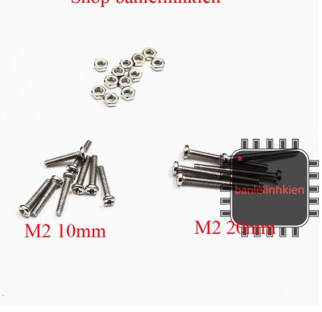 Ốc vít M2 độ dài 5mm 10mm 20mm