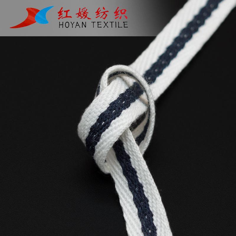HONGYUAN đai , dây , chỉ Red Yuan Ribbon Chất lượng cao Cotton Đơn nhân vật Ban nhạc Middle Jump Rou
